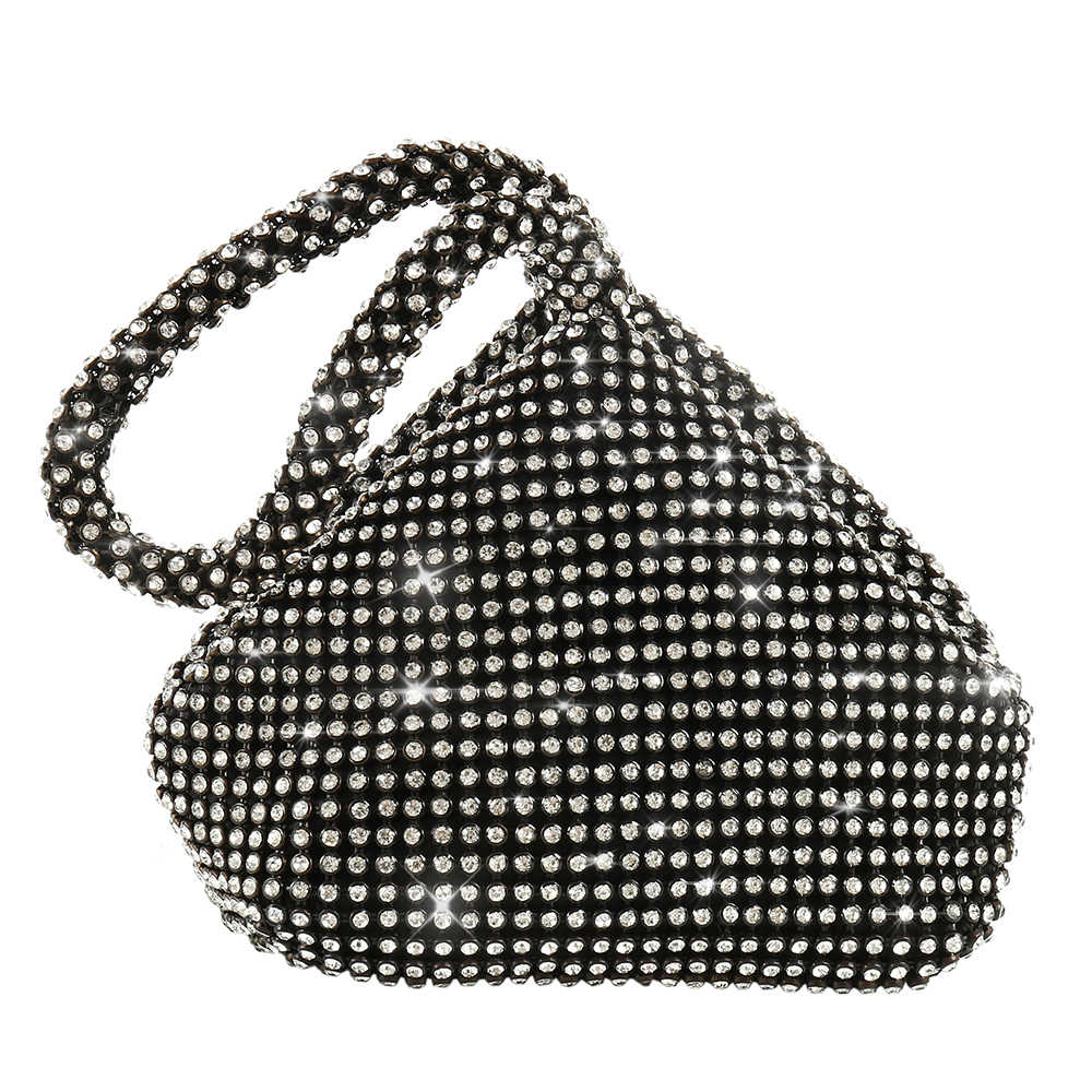 ... Woman Evening bag Women Diamond Rhinestone Clutch Crystal Day Clutch  Lady Wallet Wedding Purse Party Banquet ... 93b437cff15e