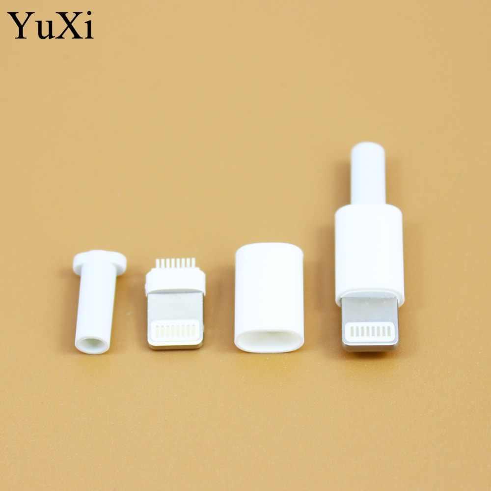 玉渓溶接タイプ 8Pin 3 で 1 雄プラグ USB コネクタアダプタコンバータタイプを入力して c iphone 5 5s 6 6s plus