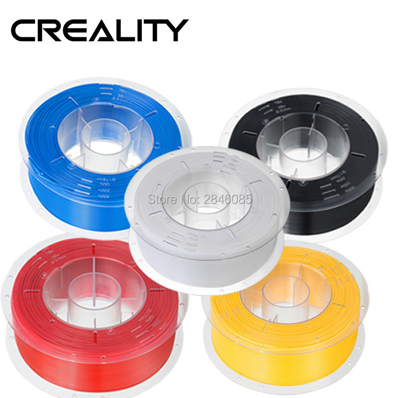 Creality 3D White//Black//Yellow//Blue//Red 1KG 1.75mm PLA Filament For 3D Printer