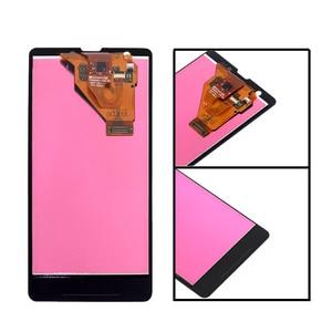 """Image 2 - 4.55 """"AAA M36h C5502 C5503 monitor LCD de Ecrã para Sony Xperia ZR componente de peças de reparo do digitador da tela de toque do telefone"""