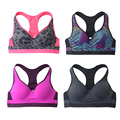 Quick Dry Camo Sports Bra Women Summer Seamless Rims Sports Brassiere Yoga Fitness Padded Running Bra Jogging Plus Size Crop Top