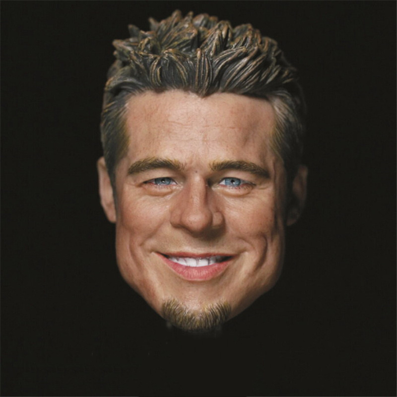 Brad Pitt Fight Club 1/6 Head Sculpt Muscular Body for 12 Action Figure doll Toys soldier head model toy boys gift фигурка planet of the apes action figure classic gorilla soldier 2 pack 18 см