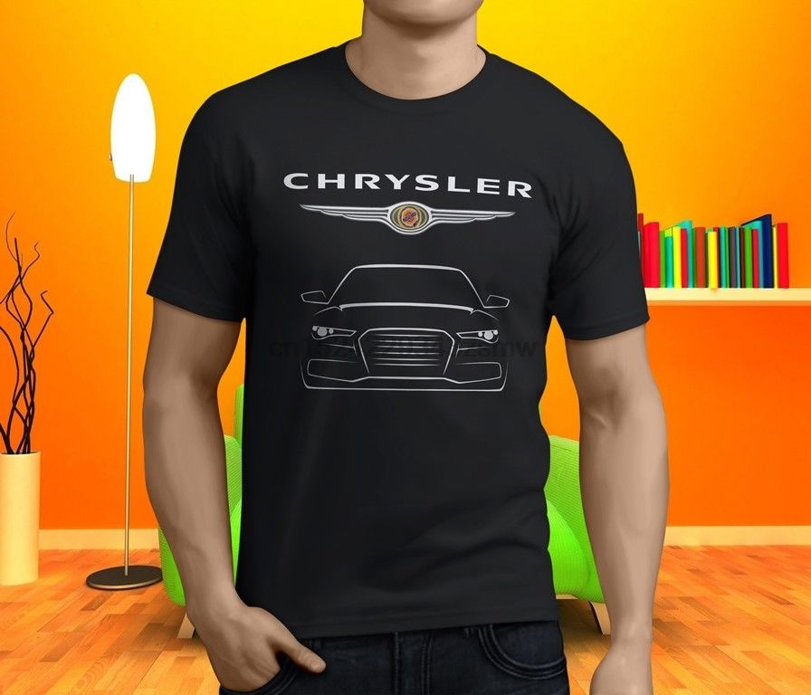 Chrysler 300C Hemi Srt8 V8 Sedan Car Men& Black T Shirt Size S 3Xl