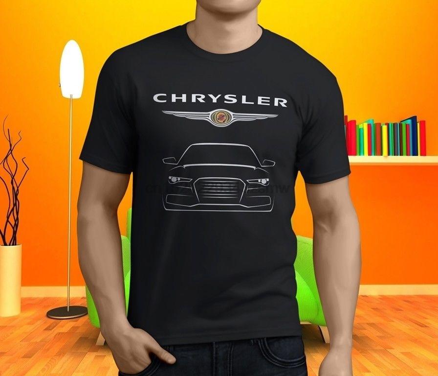 Chrysler 300C Hemi Srt8 V8 Sedan Car Men& Black T Shirt Size S 3Xl