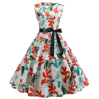 Full Lolita Party Dress Stripped Patterns and Waist Line Mature Look