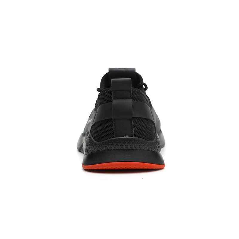 2019 Più Il Formato di Inverno degli uomini di Puntale In Acciaio Scarpe Da Lavoro Protettivi Brevi Caricamenti Del Sistema Degli Uomini di Acciaio Inox Metà Suola di Sicurezza Indistruttibile scarpe
