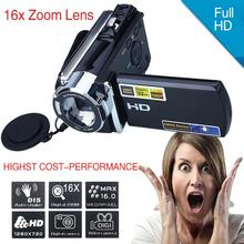 On sale Cewaal 1080P 16MP Digital Camera Video Camcorder DV DVR 3.0 Inch LCD 16x Zoom Cam Consumer Camcorders DV