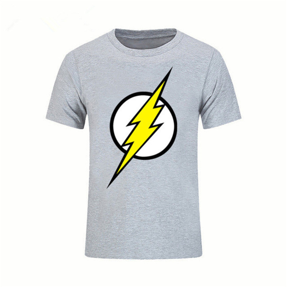 Mens Childrens Classic Comic Super Hero Big Bang Theory Sheldon Be Friendly In Use The Best Flash T Shirt Shirts