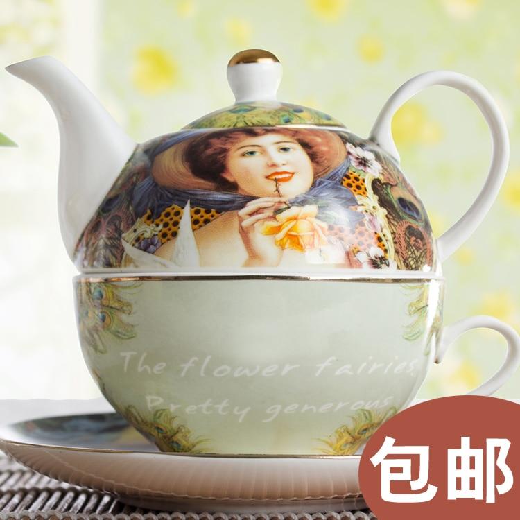 La cafetière est belle et pratique un pot plat pot thé théière modèle créatif