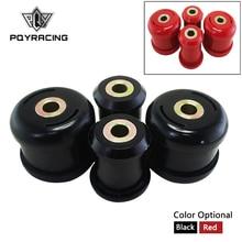 Передние нижние рычаги управления втулки для Honda Civic 01 05 для Acura RSX 02 06 полиуретан черный, красный цвет