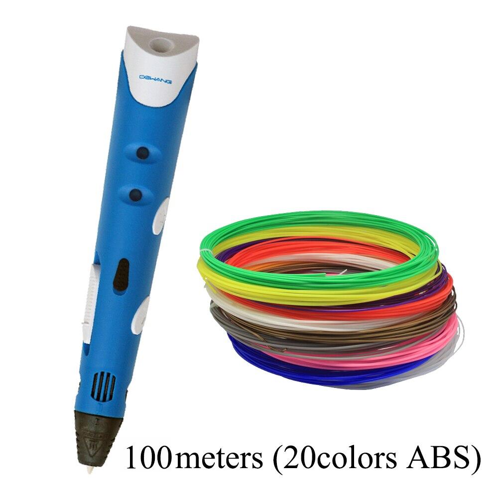 DEWANG 3D toll firka 1,75 mm-es ABS szálakkal ellátott 3D nyomtató - Irodai elektronika - Fénykép 5