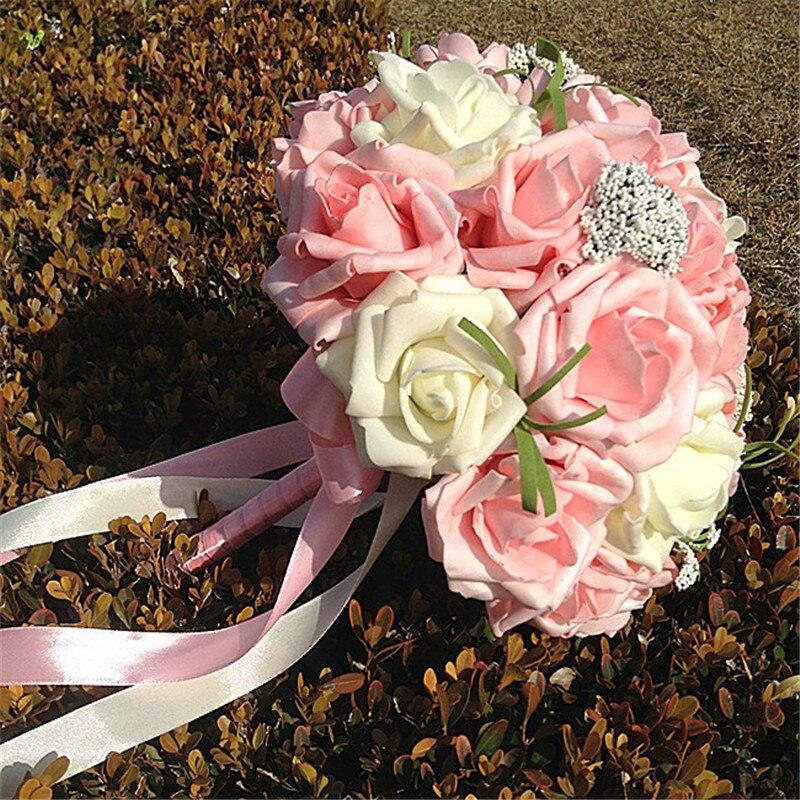 Korean Wedding Flowers: Love Forever Korean Style Wedding Photo Decorative Flowers