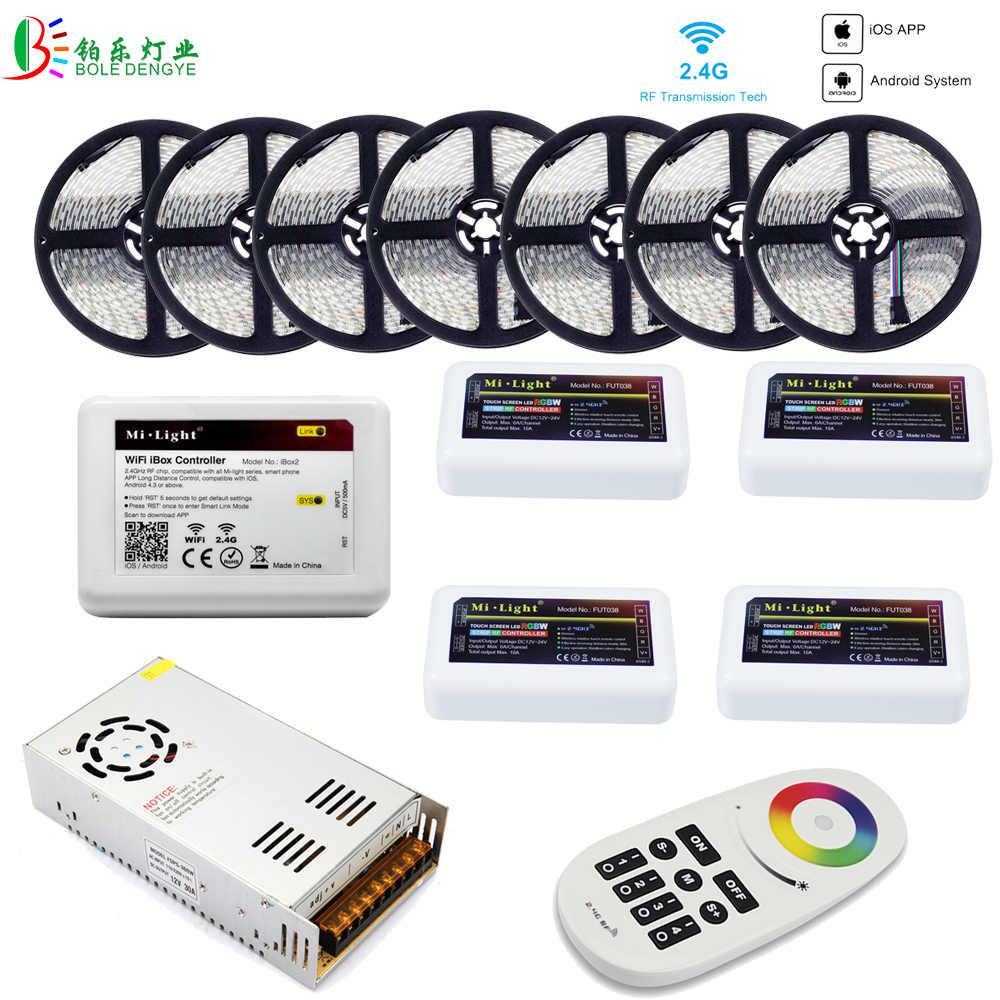 Mi Light WIFI 5050 RGBW RGBWW RGB LED Strip Waterproof 5M