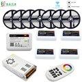5050 RGBW WIFI Светодиодная лента Водонепроницаемая 40 м 20 м 10 м RGBWW Светодиодная лента + Mi Light WIFI умный контроллер RF 4 зоны пульт + источник питания