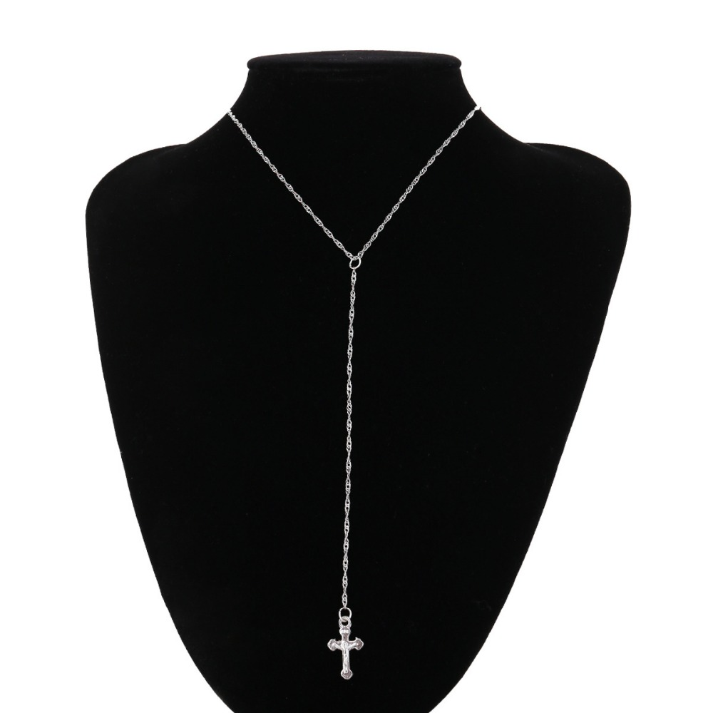 pendant neklace women cross long necklace fashion jewelry colar feminino necklaces & pendants
