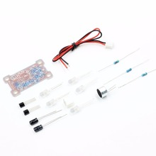 Electronic Funny Kits Voice Control LED Melody Light DIY Kits Production Suite Small Electronic Learning Electronic Kits