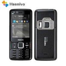 N82 разблокированный Nokia N82 GSM 3G сеть WIFI 5MP камера FM 2,4 дюймов мобильный телефон 1 год гарантии