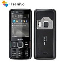 Nokia n82 remodelado-original nokia n82 gsm 3g rede wi-fi 5mp câmera fm 2.4 polegada telefone 1 ano de garantia frete grátis