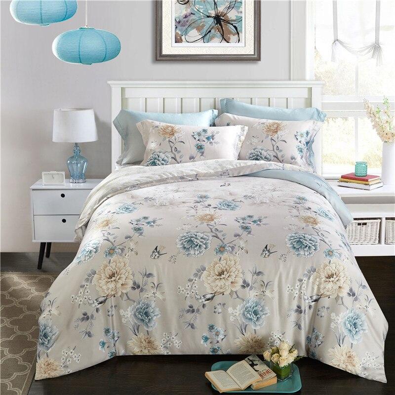svetanya 100 tencel bedlinen soft and luxury summer bedding set queen full king size quilt