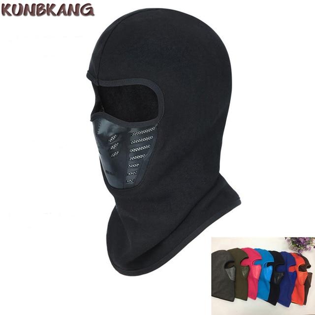 2017 Winter Warm Full Face Mask Hat Cover Windproof Thermal Fleece Balaclava Scarf Hood Men Women Sports Neck Snowboard Ski Mask