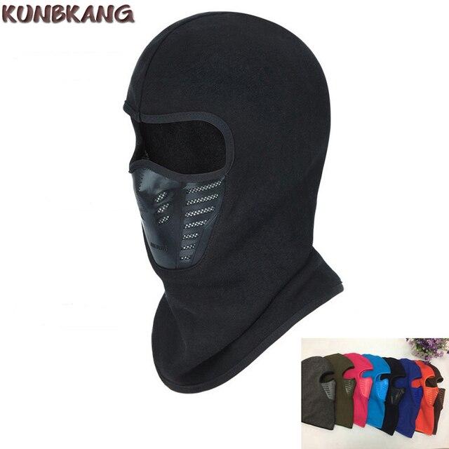2018 зимняя велосипедная маска для лица Ветрозащитная сноубордическая  Флисовая Балаклава полный шарф маска для велосипеда 3b16e4c29c4