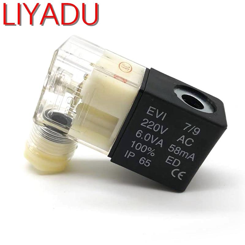 3V210-06 4v210-08 4V310-08 Solenoid Valve Copper Coil All Silver Contact DC12V/24V AC 24V/36V/110V/220V/380V