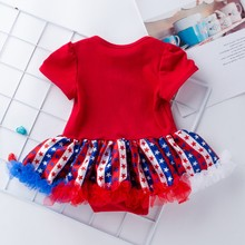 4th of July Baby Girl Tutu Dress Outfit Set