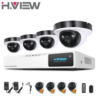 H View 8CH AHD DVR 4PCS 2 0MP IR Night Vision Outdoor Indoor CCTV Camera 2