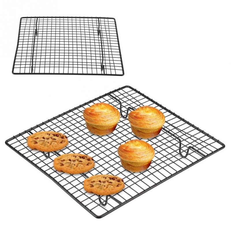 Kitchen Nonstick Baking Cooling Rack Stainless Steel Cooling Grid Baking Tray For Biscuit Cookie Pie Bread Cake Baking Rack