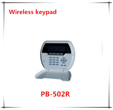 Wireless two Way Keypad With LCD back light USB recharge working with ST-VGT and ST-IIIB Focus Alarm system free shipping 433mhz 868mhz wireless vibration sensor shock detector works with st iiib and st vgt alarm system