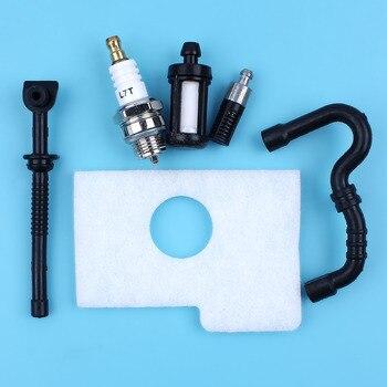 Сервисный комплект, воздушный топливный масляный фильтр, шланг, Свеча зажигания для бензопилы STIHL 017 018 MS170 MS180 MS 170 180, запасные части