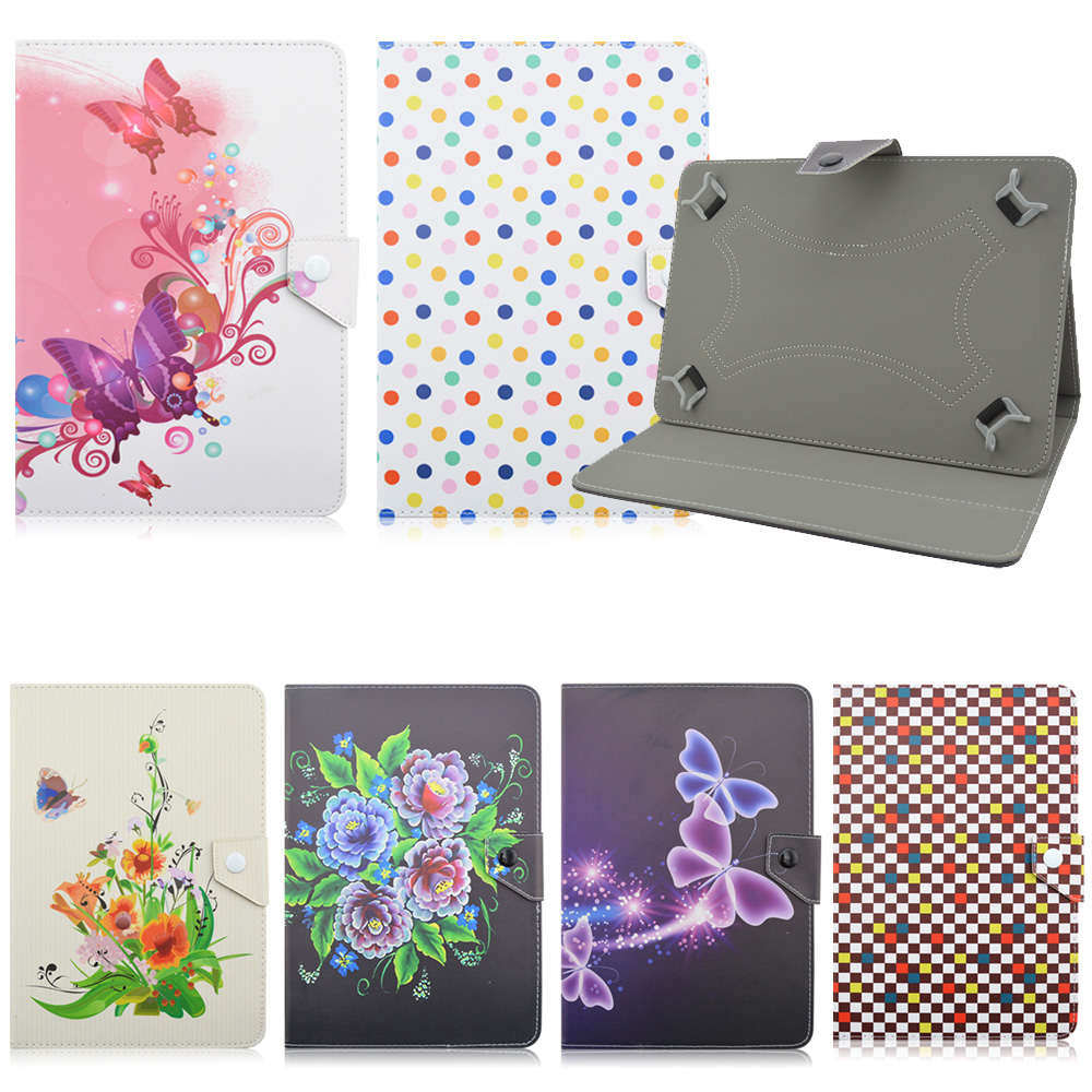Universal  7.0 inch Leather Adjustable Case Cover For Lenovo TAB 2 A7-10 for samsung Galaxy Tab4 T230 T231 T235 KF492A case cover for goclever quantum 1010 lite 10 1 inch universal pu leather for new ipad 9 7 2017 cases center film pen kf492a