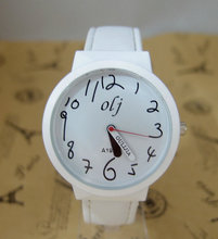 holiday gift good quality fashion quartz watch women children leather wristwatch 926E2