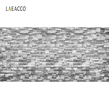 Laeacco Brick Wall Solid Color Baby Food Portrait  Photography Backgrounds Customized Photographic Backdrops For Photo Studio