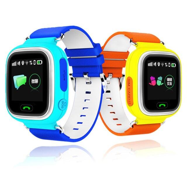 Лучший бэби smart watch Q90 с сенсорный экран поддержка Sim-карты и голосового вызова smart watch