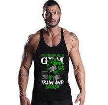 2017 Gyms Clothing Men tank top Bodybuilding Hulk Fitness Men gyms Tank Top Brand-clothing Men O-Neck Cotton vest men tank Top