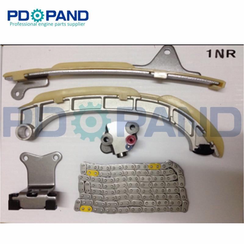 1NR Engine Timing Chain Tensioner Kit for Toyota YARIS Auris URBAN CRUISER VERSO 16V 1329cc