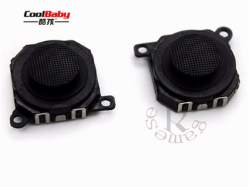 100pcs Hight quality Replacement Parts Black 3D Button Analog Joystick for Sony for PSP1000 PSP 1000 PSP-1000 Console