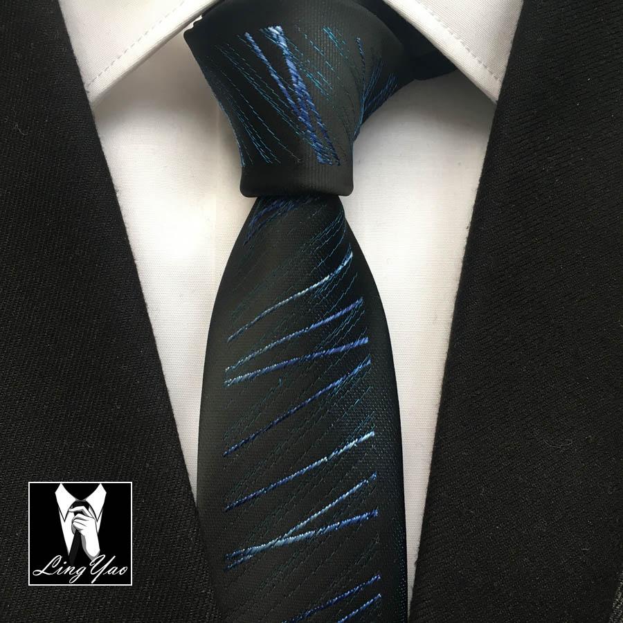 Fashion Designers Slim Tie Menss