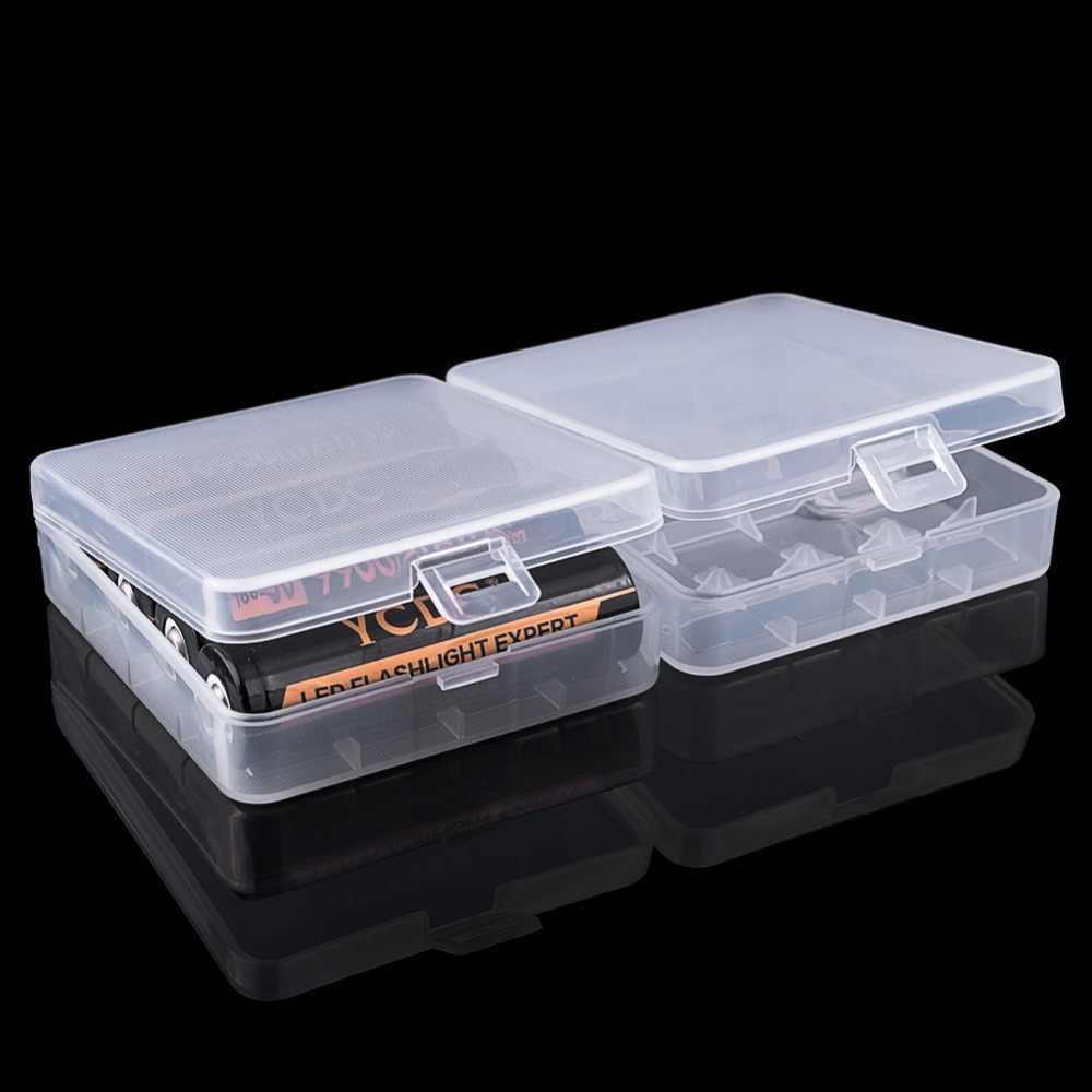 YCDC trwałe 18650 pojemnik na baterie bardzo ciężko pojemnik do przechowywania dla 2/4x18650 4x AA 4 aaaa powerbank na akumulator plastikowe etui