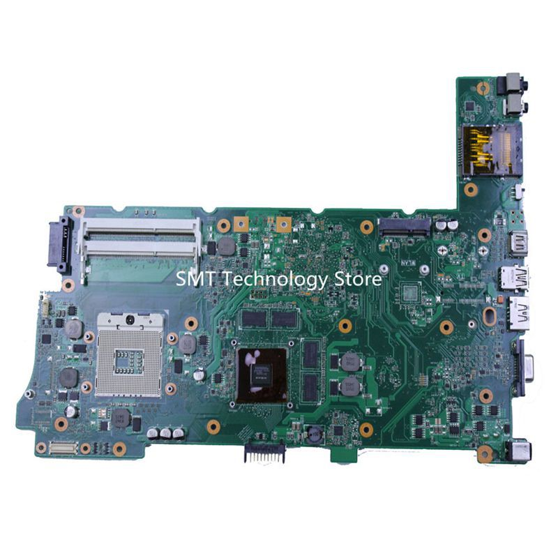 все цены на  Free shipping for ASUS N73JG N73JF motherboard REV:2.1 with 2 RAM SLOT support i3 i5 CPU 100% test before shipping  онлайн