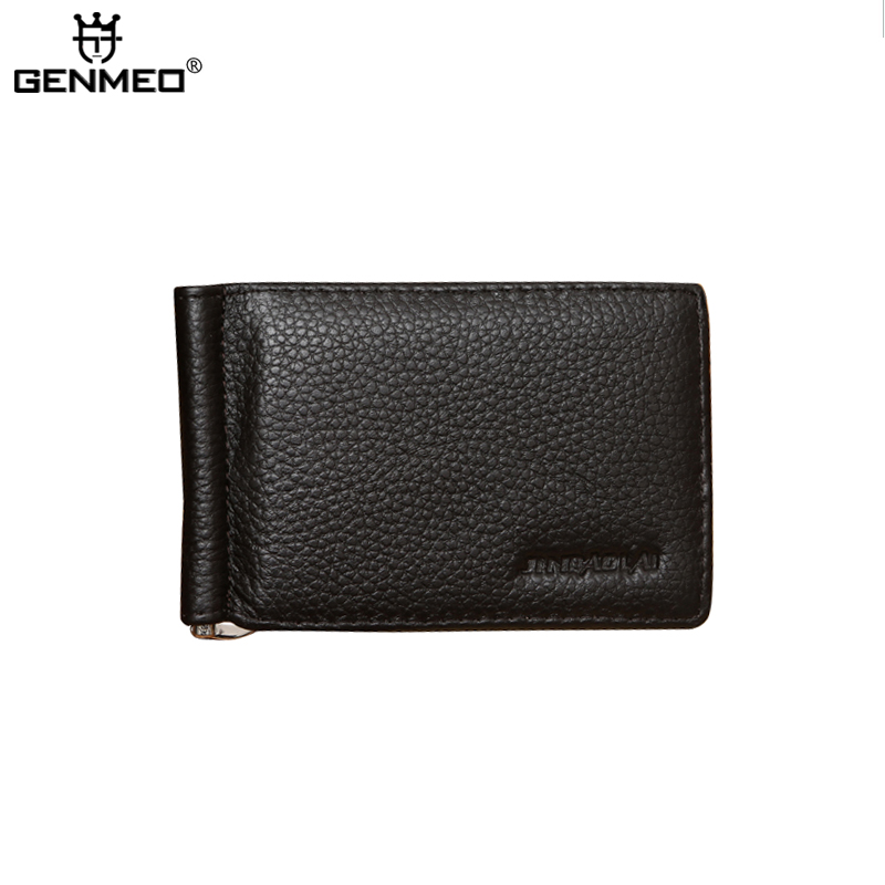 MAIFEINI New Arrival Vintage Genuine Leather Bifold Wallets Men Cow Leather Card Holder Coin Purse Clip Clutch Money Bag цена и фото