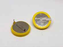 100pcs/lot Original Battery For Panasonic CR2450 Button Cell Welding Feet Coin 3V 180 degree 2 Solder Pins Watch Batteries