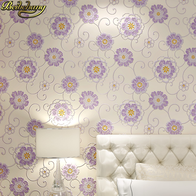 beibehang 3D wallpaper roll Modern Floral Wall paper 3D papel de parede luxury European wall paper for living room papier peint beibehang wallpaper roll stone vinyl wall wall paper 3d papel de parede tijolo wallpaper for living room bedroom papier peint