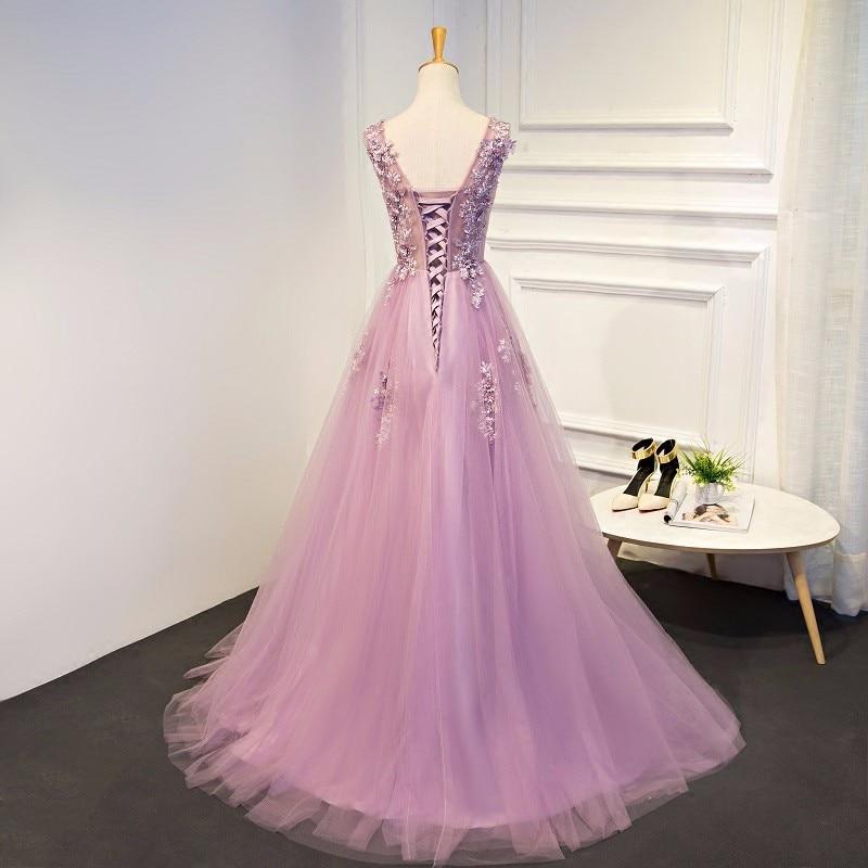халат де суаре новые дешевые градиент тюль вечернее платье 2017 долго женское вечернее платье праздничное платье Лонго