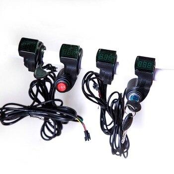 Accesorios eléctricos de Bicicleta, pantalla LED de voltaje, 12 v, 24 V,...