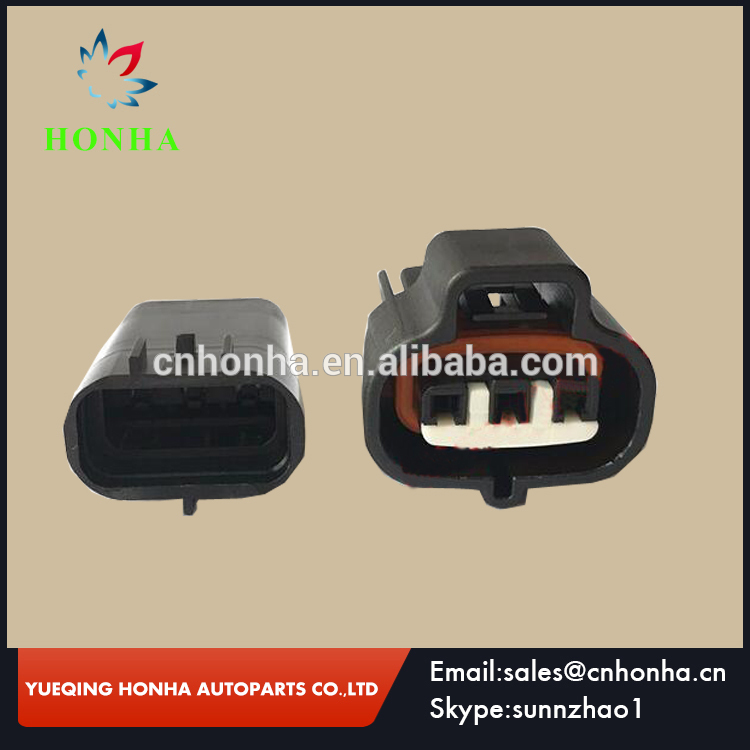 6189-0099 3 Pin Female Male Connector For VSS for <font><b>Toyota</b></font> <font><b>1JZ</b></font> <font><b>2JZ</b></font> Map Sensor 90980-10841 Vacuum Turbo Pressure Auto Plug LX13 image