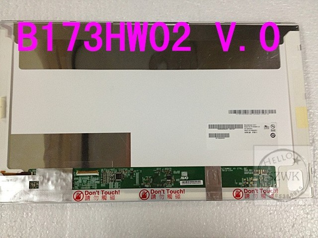 "Pantalla de ordenador portátil para HP B173HW02 V.1 HW1A LCD display panel reemplazo 17.3 "" Full HD 1920 * 1080 LED"