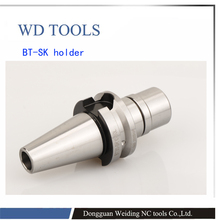 BT-SK high precision Chuck BT SK10 SK16 Tool Holders collet chuck Series Holder Shank for machinery tools
