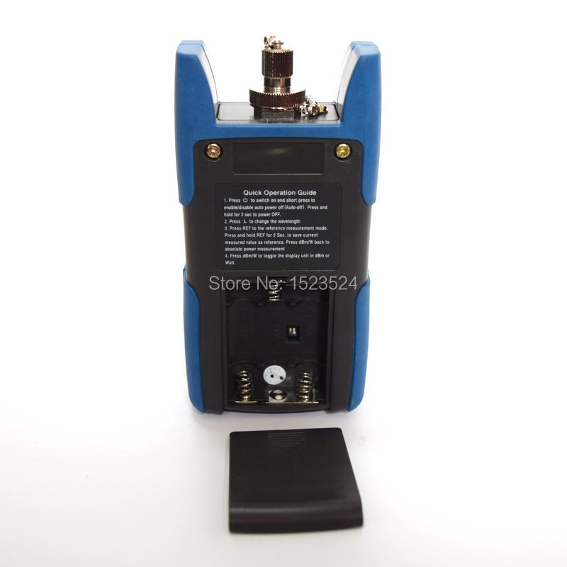 TL510C-50~+ 26dB портативный оптический Мощность FC SC разъем с TL532 прибор для визуального определения повреждения кабель локатора тестер 10 мВт